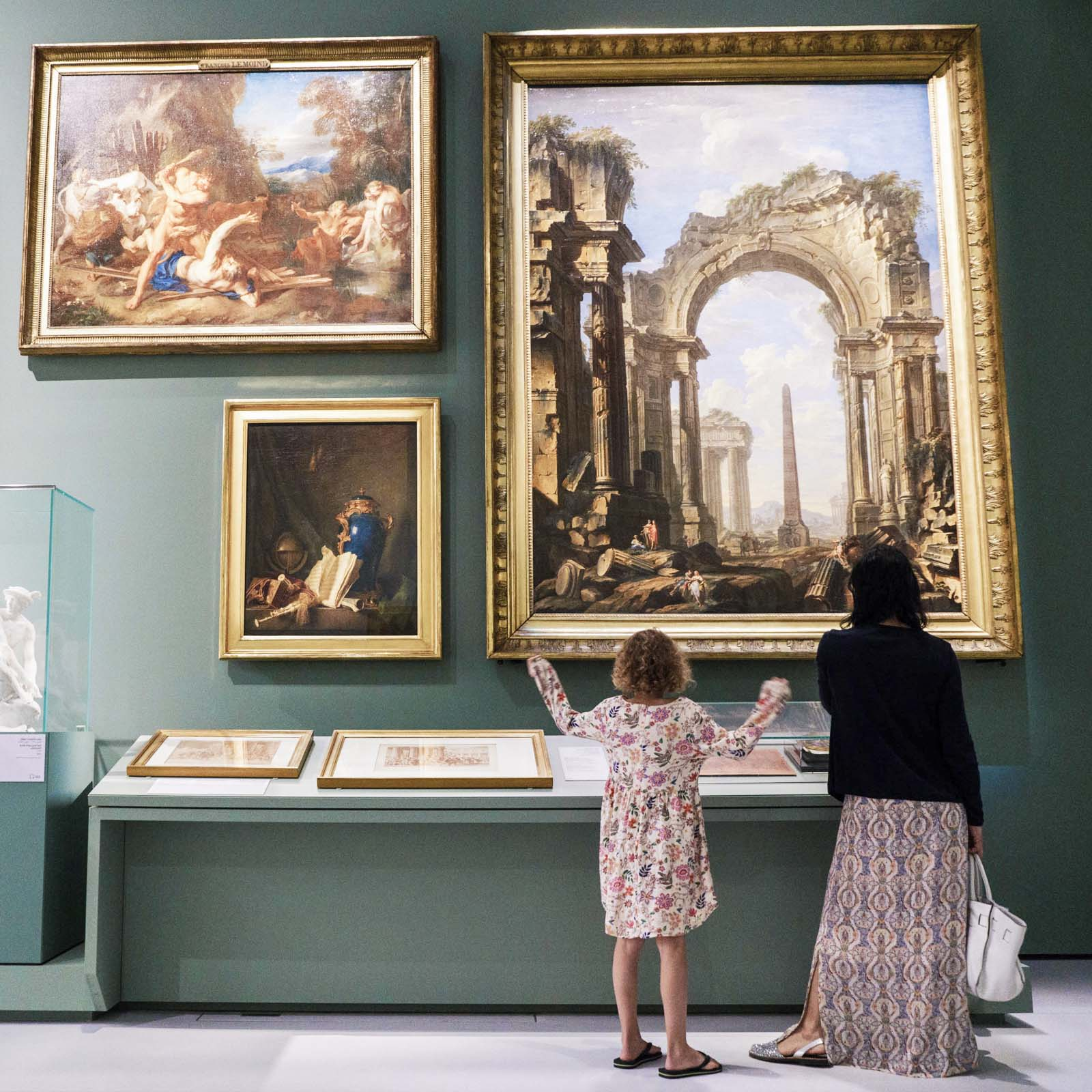 International exhibition From one Louvre to another in partnership with musée du Louvre