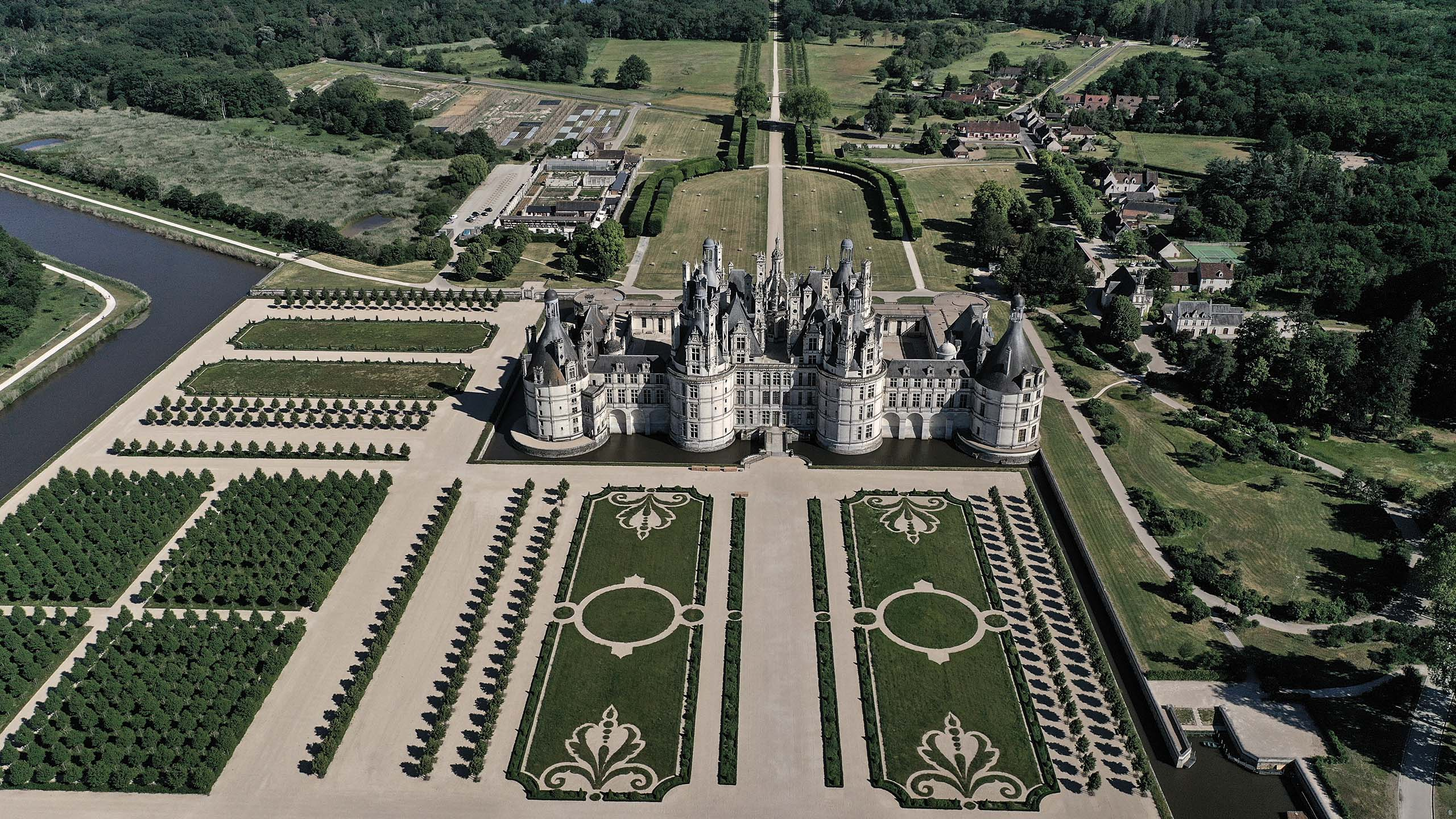 Domaine national de Chambord, France