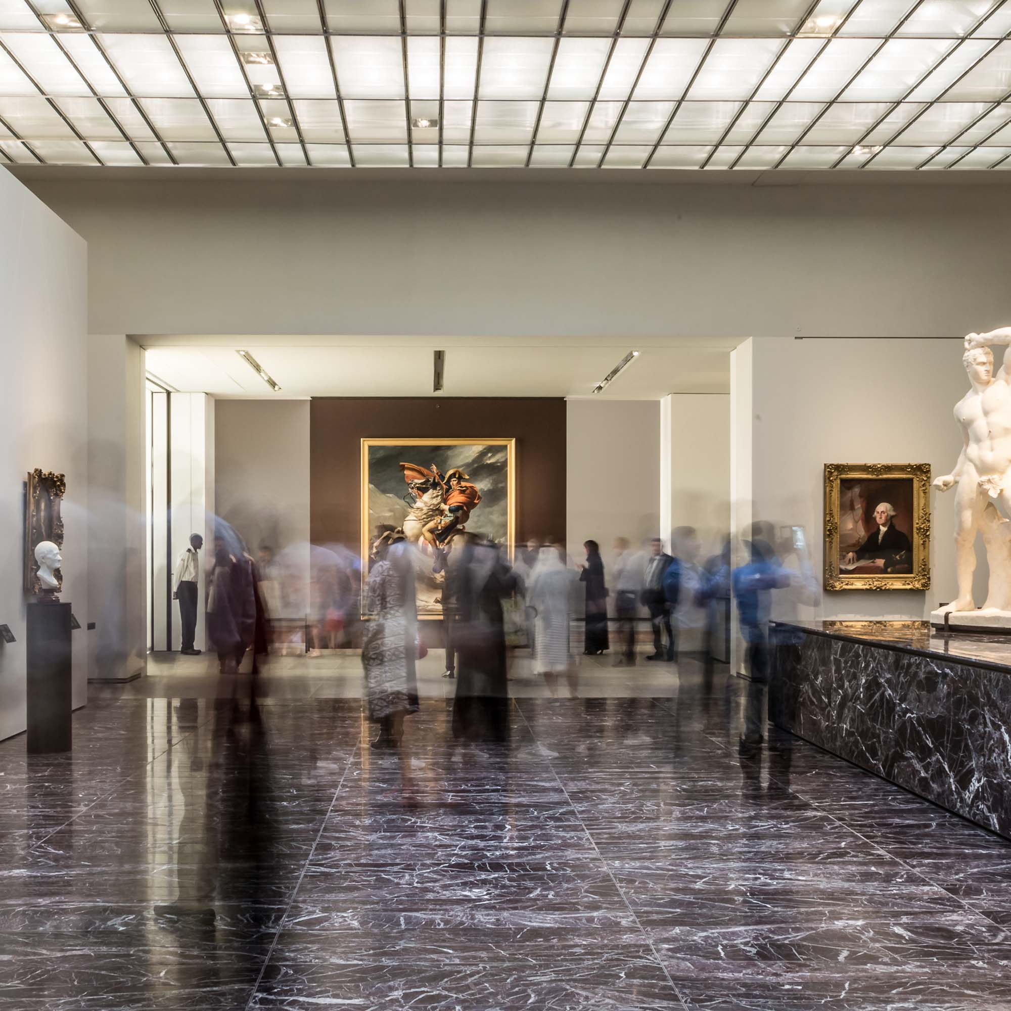 TELLING THE STORY OF A MUSEUM OF THE 21st CENTURY, visitor experience, Louvre Abu Dhabi